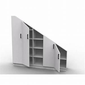 Rangement Sous Pente : armoire sur mesure sous pente ~ Preciouscoupons.com Idées de Décoration