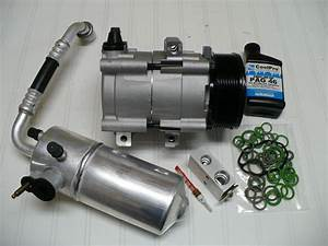 New A  C Compressor Kit Fits Ford Expedition 1998 1999 2000 2001 2002