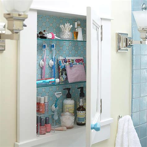 rangement interieur placard salle de bain