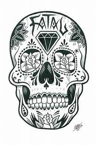 Crane Mexicain Dessin : dessins sp cial cranes et cranes mexicain santa muerte pinterest tatouage t te de mort ~ Melissatoandfro.com Idées de Décoration