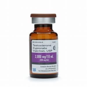 Testosterone Cypionate   C Ml  Mdv  10ml Vial