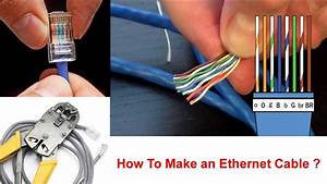 How To Make An Ethernet Cable