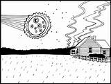 Coloring Meteorite Meteor Asteroid Pages Belt Template 246px 34kb Drawings sketch template