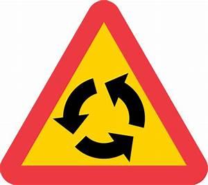 Varning för cirkulationsplats
