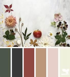 Wandfarbe Grün Palette : gathering autumn design seeds lotts likes fall color palette house colors und design seeds ~ Watch28wear.com Haus und Dekorationen