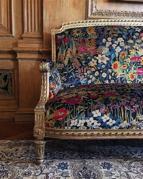Fabric Upholstery Furniture by Janehallworth Maisondeluxe2015 Beautiful