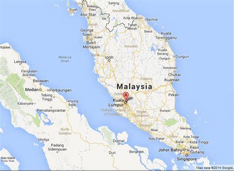 kuala lumpur  map  malaysia