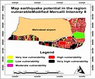 Caused damage in an earthquake with modified Mercalli ...
