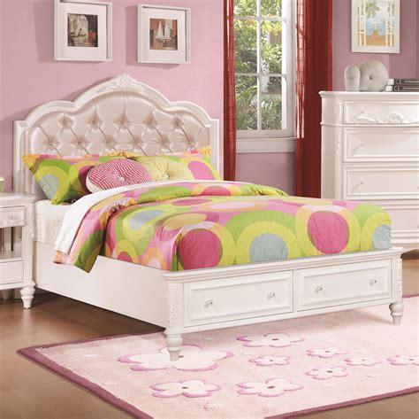 Buy Caroline Twin Size Storage Bed W Diamond Tufted