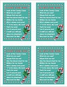 C/candy Cane Poems For Christmas | Template Printable