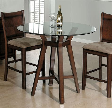 glass top dining table small  kitchen table