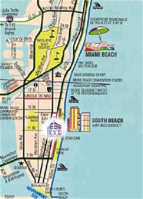 create  fun miami map miami map miami beach map