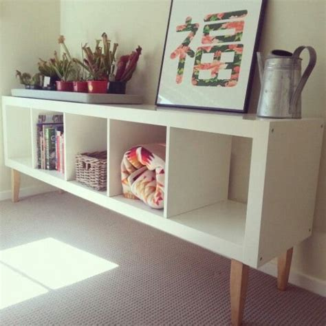 idea  sunny alcove ikea hack expedit bookcase