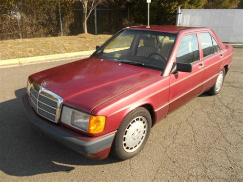 See kelley blue book pricing to get the best deal. 1989 Mercedes 190E 2.6L L6 SOHC 4door Sedan for sale - Mercedes-Benz 190-Series 190E 1989 for ...