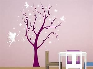 Wandtattoo Baum Kinder : wandtattoo magischer baum mit fee wandtattoo baum ~ Whattoseeinmadrid.com Haus und Dekorationen
