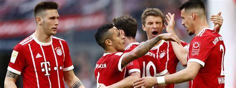 Borussia verein für leibesübungen 1900 e.v. Bayern gewinnen 5:1 gegen Gladbach - das offizielle ...