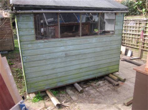 how to move a shed moving a shed to reorganise your garden is easier than you