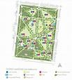 Fitzroy Gardens - Cafe & Conservatory Parking Address / Map