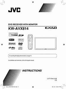 Jvc Kw Avx814ui En Kw Avx814 Ui  User Manual Lvt1794 010a