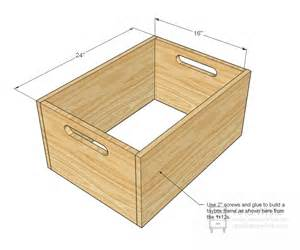 woodwork build wooden toy box pdf plans