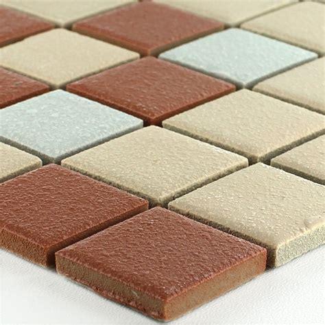 Keramik Mosaik Fliesen by Keramik Mosaikfliesen Rutschhemmend Terrakotta Tm33183m
