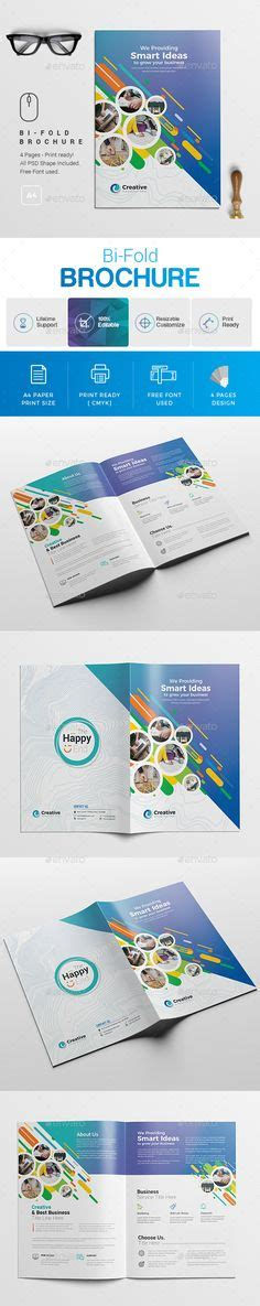 Trifold Template To Use On Wiki by Corporate Bi Fold Brochure Template Psd Design Download