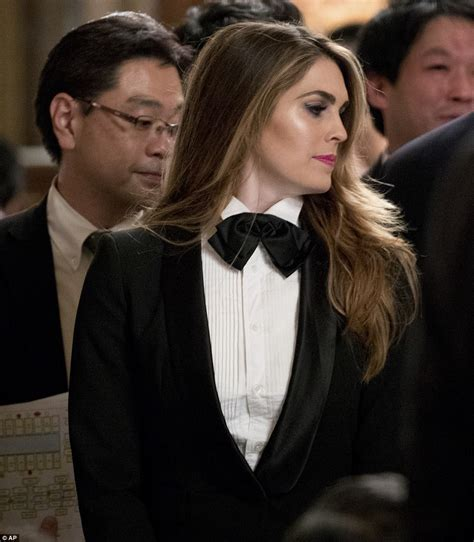 Melania Trump and Hope Hicks attend dinner in Japan ...