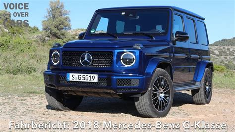 Mercedes G Klasse 2018 by 2018 Mercedes G Klasse Fahrbericht G500 G63 Amg