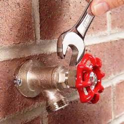 outdoor water faucet replace outdoor faucet - Fixing Kitchen Faucet