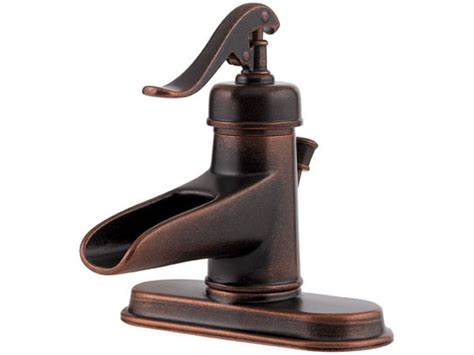 Price Pfister Rustic Bronze Vintage Well Pump Waterfall