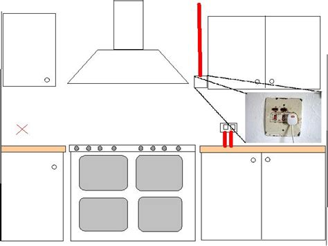 kitchen island height uk spur from cooker switch diynot forums