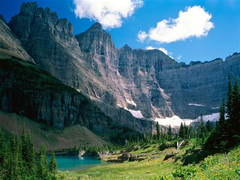 Glacier National Park Us ~ Cliffs And Canyon