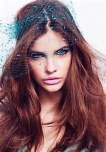 Barbara Palvin Models Spring Beauty Trends for Glamour UK ...