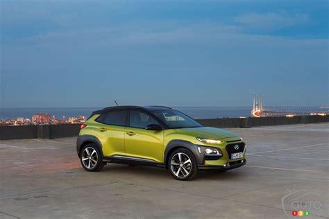 2018 Hyundai Kona Ready To Wow North American Drivers