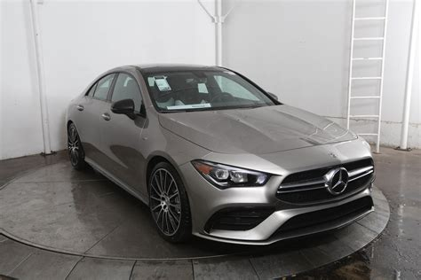 Enjoy the beauty and intelligence of a digitised multimedia system. New 2020 Mercedes-Benz CLA CLA 35 AMG® Coupe in Austin # ...
