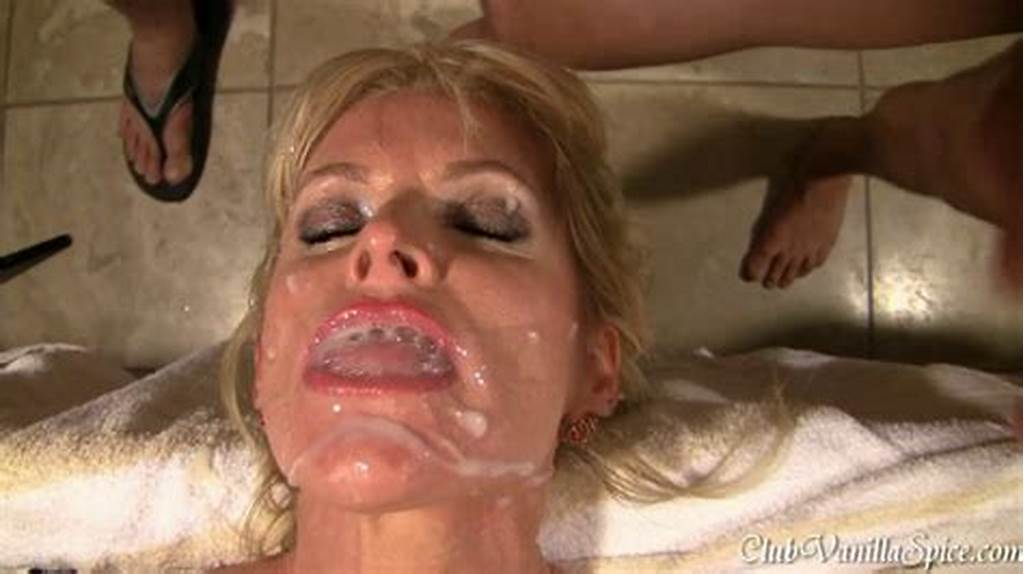#Busty #Blonde #Milf #Getting #Cum #All #Over #Her #Face #And #Ass