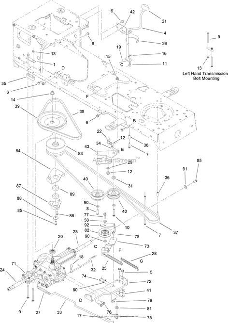 Toro Lx500 Part Diagram by Toro 13ap60rp744 Lx500 Lawn Tractor 2006 Sn 1a096b50000