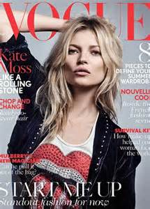 Latest Vogue Cover by Kate Moss Honours Rolling Stones For Her 37th Appearance