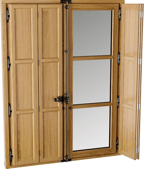 volet int 233 rieur bois traditionnel sur mesure bremaud