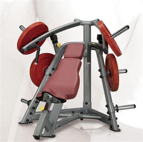 machine bench press steelflex plip1400 leverage incline bench press machine
