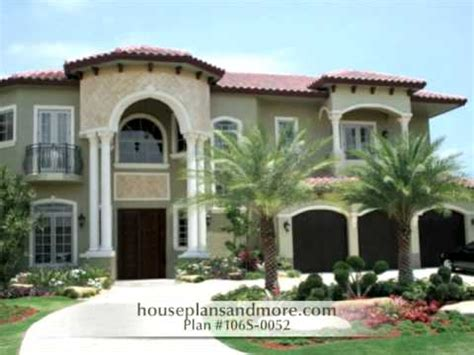 Mediterranean Houses Video 2  House Plans And More Youtube