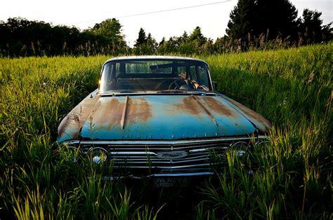 rusty car driving rusty old junk cars nordwulf