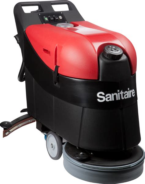 Auto Floor Scrubbers Commercial by Sc6205a Sanitaire 20 Inch Walk Auto Scrubber