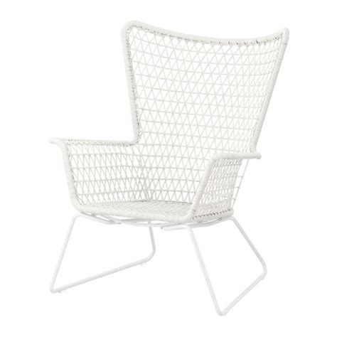 h 214 gsten armchair outdoor white ikea
