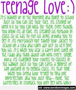 Teenage Post Quotes About Love. QuotesGram