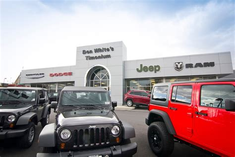 jeep chrysler white about us don white s cdjr cockeysville md