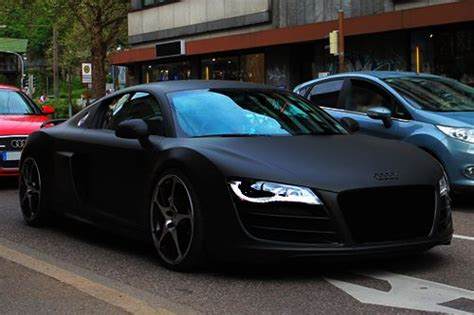 Matte Black Abt Audi R8 I Fucking Love This Paint Job In