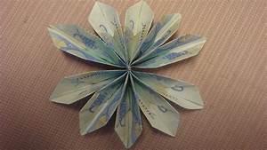 Blumen Aus Geld Basteln : geld falten geldblume basteln deko ideen mit flora shop youtube ~ Bigdaddyawards.com Haus und Dekorationen