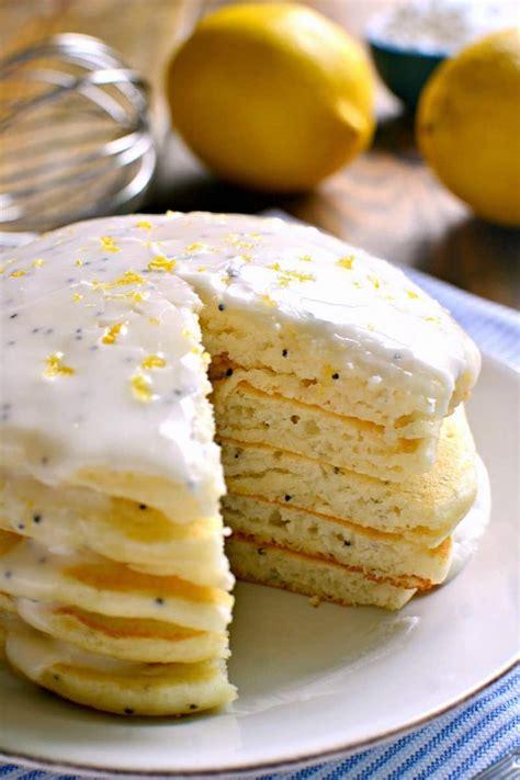 lemon poppy seed pancakes lemon tree dwelling
