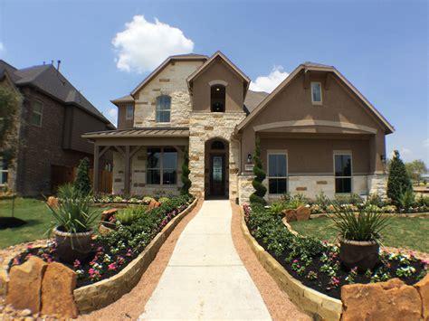 ryland model home opens  cane island katy texas